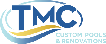 TMC Custom Pools logo
